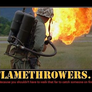 Flamethrowers